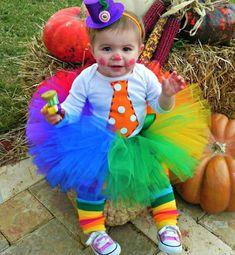 My sweet girl. DIY clown!!! | Halloween | Pinterest | DIY and crafts,  Clowns and Sweet
