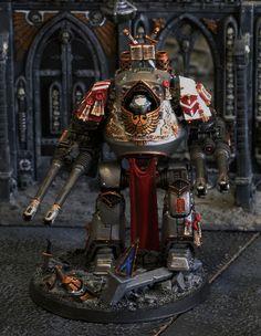 40k - Grey Knights Venerable Dreadnought (Contemptor) by John Ashton