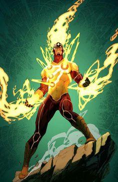DC Comics Firestorm. For similar content follow me @jpsunshine10041