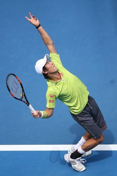 Kei Nishikori Photos - Australian Open: Day 2 - Zimbio