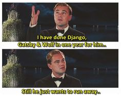Good luck with The Revenant, Leo :p