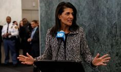 UN envoy Nikki Haley pledges to 'take names' of those who don't support US   World news   The Guardian