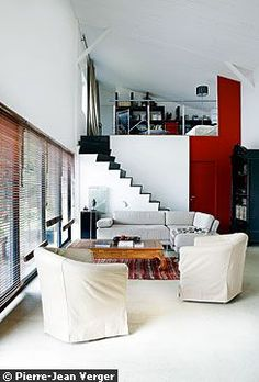 mezzanine bedroom - sleeping loft