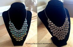 Lia Sophia Hydrilla necklace. Reversible.  I didn't know it was reversible!