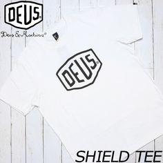 [クリックポスト対応] Deus Ex Machina デウス エクス マキナ SHIELD S/S TEE 半袖Tシャツ DMW41808E | BRAND,Deus Ex Machina | LUG Lowrs