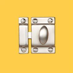 CHROMED BRASS ECCENTRIC 90 DEGREE HATCH LATCH   doors   Pinterest ...