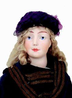 Belle poupée artistique de la maison HURET (période Elisa PREVOST (circa 1904)…