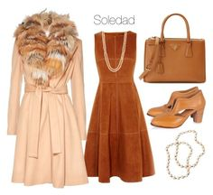 """Soledad"" by begopuig ❤ liked on Polyvore featuring Karen Millen, Alice + Olivia, Prada and Panacea"