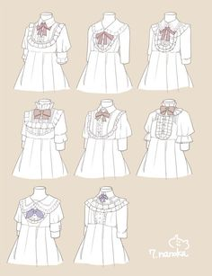 Colar - Victorian style shirt Reference
