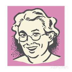 images of smile posters | pop-ink-csa-images-smiling-older-lady.jpg