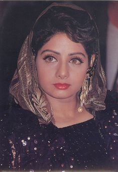 Sridevi has the most beautiful eyes! The more films I watch starring this beautiful actress, the more impressed I am by her vivacity and charm. Bollywood Pictures, Bollywood Actress Hot Photos, Bollywood Celebrities, Most Beautiful Eyes, Most Beautiful Indian Actress, Beautiful Actresses, Amazing Eyes, Beautiful People, Bollywood Cinema