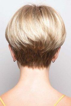Blake By Noriko Wigs Beauty Hair Hairstyles Haircuts Short Back View