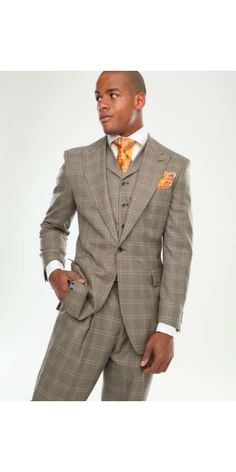 """""""Like"""" this Steven Land men's suit? Find this #StevenLand suit at…"""