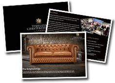 Receive an electronic copy of our Timeless Chesterfield brochure Chesterfield Sofa, Bespoke Design, Leather Design, Service Design, New Homes, Artisan, Fantasy, House, Furniture
