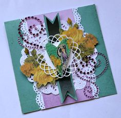 I like this card very much it makes me feel good and it looks kind of easy to make. They want you to use their stuff, but you can adapt what you have already in your stash.