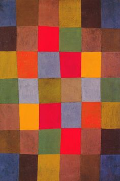 """""""New Harmony"""" by Paul Klee BTW, please check out: http://jeremy-aiyadurai.pixels.com/"""