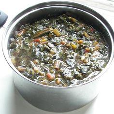 Beet Greens with Cumin & Garlic - Ayurvedic Diet & Recipes