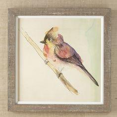 Petite Bird Framed Print I #birchlane