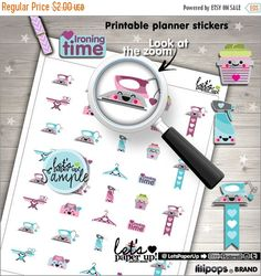 60%OFF - Iron Stickers, Printable Planner Stickers, Ironing Stickers, Kawaii Stickers, Erin Condren, Laundry Stickers, Cleaning Stickers, Cl