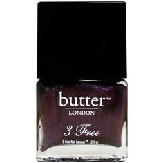 branwens feather nail lacquer ($14) found on Polyvore featuring beauty products, nail care, nail polish, beauty, makeup, nails, cosmetics, butter london, butter london nail lacquer and butter london nail polish
