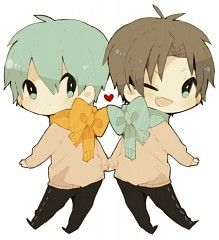 Takao & Kuroko :3