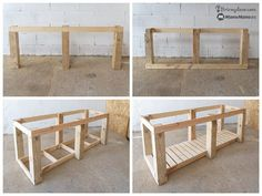 Woodworking Furniture, Diy Woodworking, Building A Workbench, Build Outdoor Kitchen, Ideas Para, Bbq, Outdoor Structures, Patio, Projects