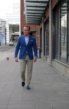 Weekend Look in Blue - The Nordic Fit