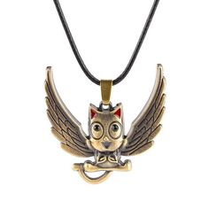 Fairy Tail Anime Pendant Necklace Flying - OtakuForest.com