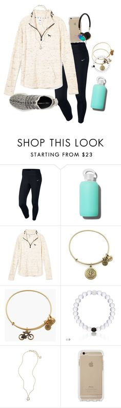 """Yeezys"" by luanacabada ❤ liked on Polyvore featuring NIKE, bkr, adidas, Alex and Ani, Kendra Scott, Frends, women's clothing, women's fashion, women and female"