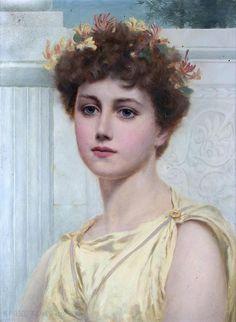 Norman Prescott-Davies    Honeysuckle, 1890. British, 1862-1915