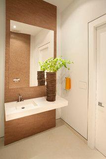 Miami Interior Design - Detailed Minimalism - modern - powder room - miami - by DKOR Interiors Inc.- Interior Designers Miami, FL
