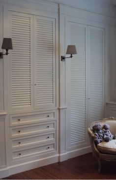 Plantation Louvered Sliding Closet Doors Upstairs Closets