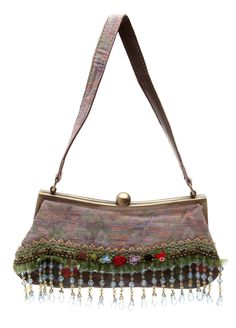 Modapelle  - Vintage Evening Bag - Flower $22.99