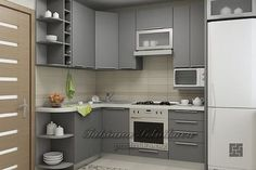 планировка маленькой кухни с барной стойкой - Поиск в Google