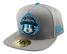 My Brother's Keeper Strapback Cap - Light Grey/Teal
