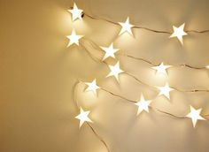 DIY star light star bright garland