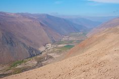 Cycling up an epic 20km ascent on a pass in the Atacama desert