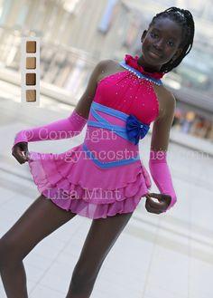IMMEDIATELY   Figure skating dress, roller skating dress, show dance, Acrobatic Rock'n'Roll, Twirling, by Gymcostumes on Etsy https://www.etsy.com/listing/552740929/immediately-figure-skating-dress-roller