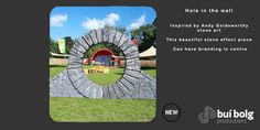 Stone Arch Prop by Bui Bolg Andy Goldsworthy, Prop Hire, Jazz Festival, Community Events, 40th Anniversary, Stone Art, Arch, Branding, Inspiration