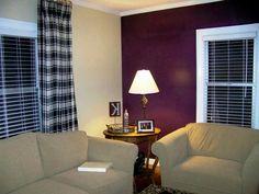 Contoh Cat Ruang Tamu 2 Warna