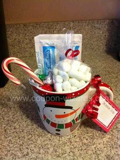 Snowman Soup - Hot Chocolate Recipe and Gift Idea Maybe give a couple out.