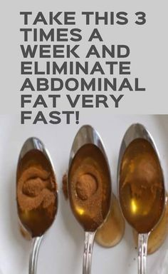 Take This 3 Times a Week And Eliminate Abdominal Fat Very Fast! | Simple Health Recipes