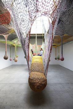 ernesto neto exhibition nyc tanya bonakdar gallery