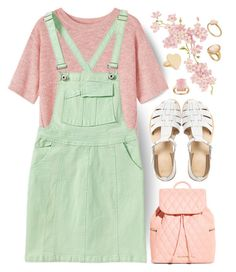 """""""[ Pink & Green ]"""" by demigeorgia ❤ liked on Polyvore featuring Toast, ASOS, Paul Smith and Vera Bradley"""