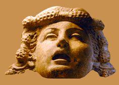 Terracotta mask.