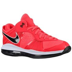 "Nike Air Max LeBron 8 V2 ""Solar Red""   Last year's hottest summer sneaker."