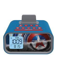 Loving this Captain America Alarm Clock on #zulily! #zulilyfinds