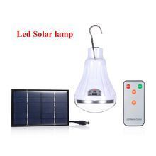 US $12.12 Outdoor/Indoor 20 LED Solar Light Garden Home Security Lamp Dimmable led solar lamp by remote control Camp Travel lighting. Aliexpress product