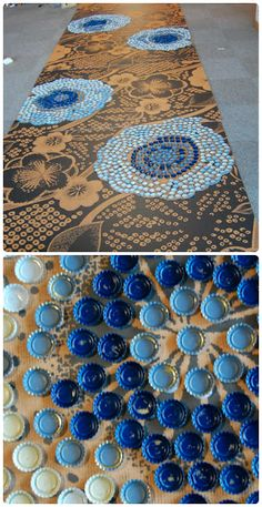 Repurpose: Bottle-cap decorating ... | the ReFab Diaries