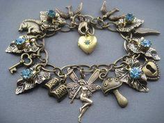 Fairy Bracelet  Fairy Jewelry by SilverTrumpetJewelry on Etsy, $45.00